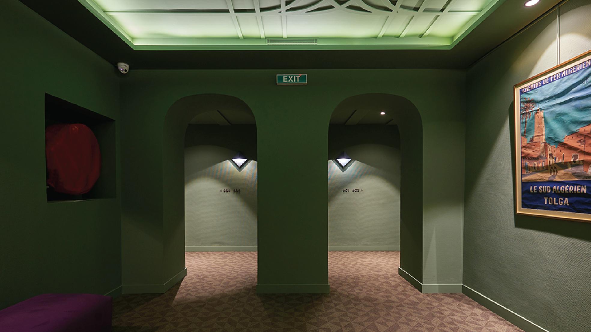 Hotel Hallways interior design