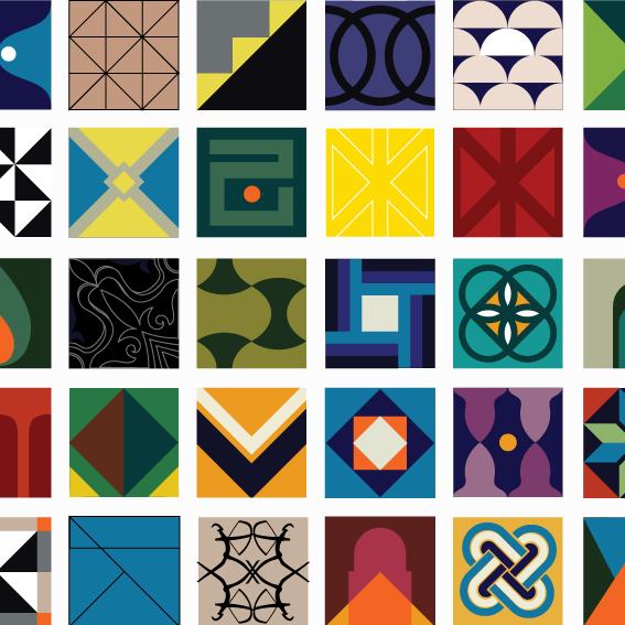 51 Tiles Design